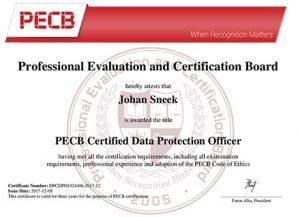CDPO Certificaat