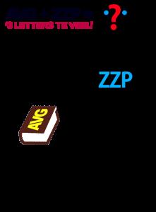 avg+zzp='3 letters te veel'